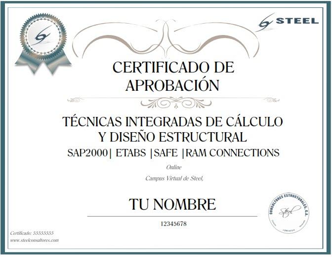 Certificado Aprobacion
