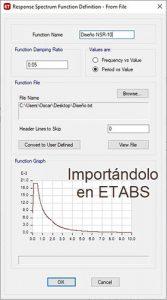 NSR-10 ETABS
